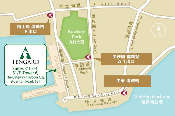 騰祺辦公室位置圖